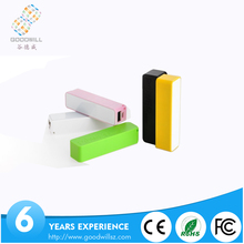 Universal Capacity Rechargeable Dual USB Power Bank 2600mAh, Portable Power Bank 5200 mAh