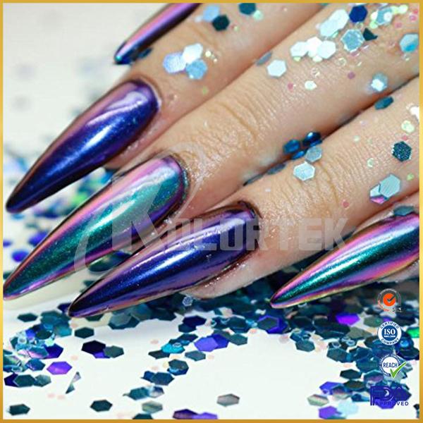 Kolortek color changing cosmetic pigment powder, nail chameleon pigment supplier