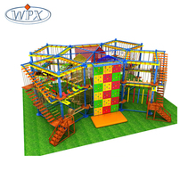 Children fun game indoor and outdoor playground ropes courses for sale