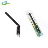 Wifi Wireless USB adapter Receiver Wifi Dongle with External Antenna for android tablet,IPTV, Set Top Box