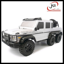 Promotional toy truck!! New design 1/10 2.4G 6WD Off Road Rock Crawler Truck PNP Plug & Play version RTR