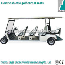 Remote electric golf cart with rear seats,EG2068KSF