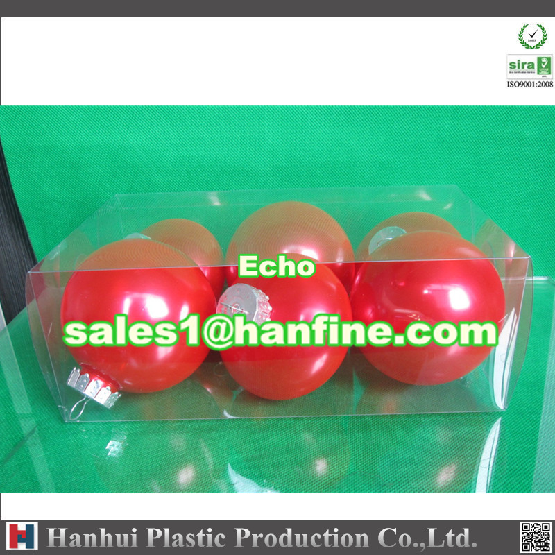Hanfine B100T 100mm PET round ball for christmas ball,XMAS ball,cheap christmas ornaments balls