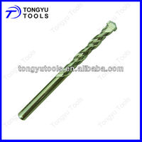 Sand Blasted Tungsten Carbide Tip Masonry Drill Bits for Concrete Drilling