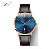 simple style high quality two hands your own brands famous men watches, stainless steel back watch mens wristwatches
