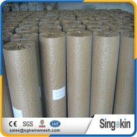 Construction eco friendly welded wire mesh for building