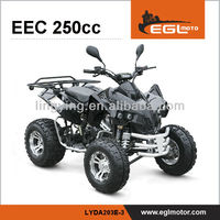 EEC Quad 250cc 4 wheel motorcycle
