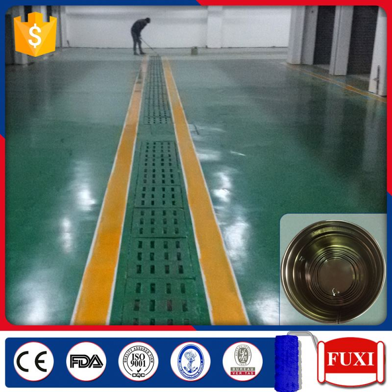 Excellet Quality Environment-Friendly Water-Based Solvent Epoxy Self-leveling Seal Primer Floor Paint