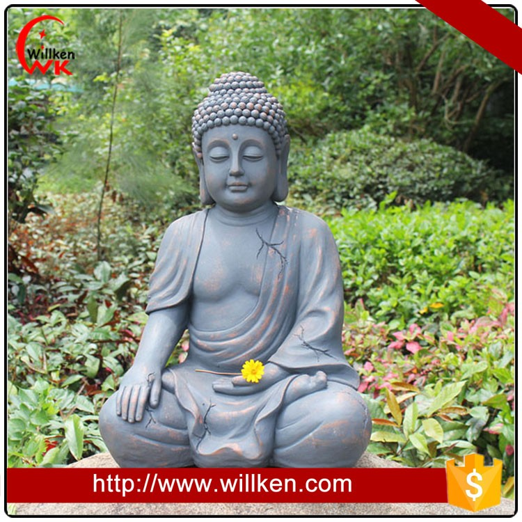 Garden decoration life size buddha statue for sale