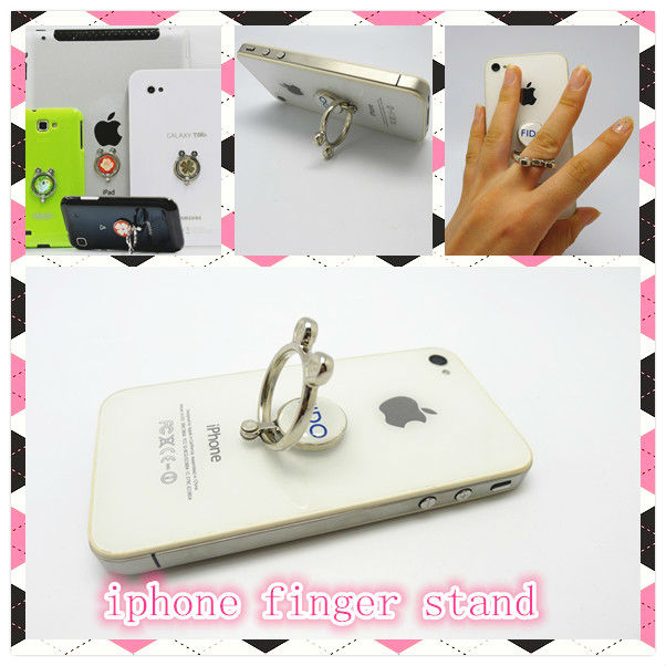 2014 new arrival smart ring phone holder stand for all mobiles