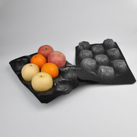custom pet clear vegetable fruit disposable food plastic tray price