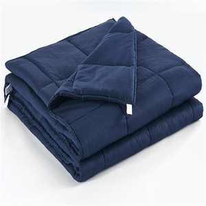 Luxury nice quality autism sensory gravity mink soft 48*72 weighted blanket