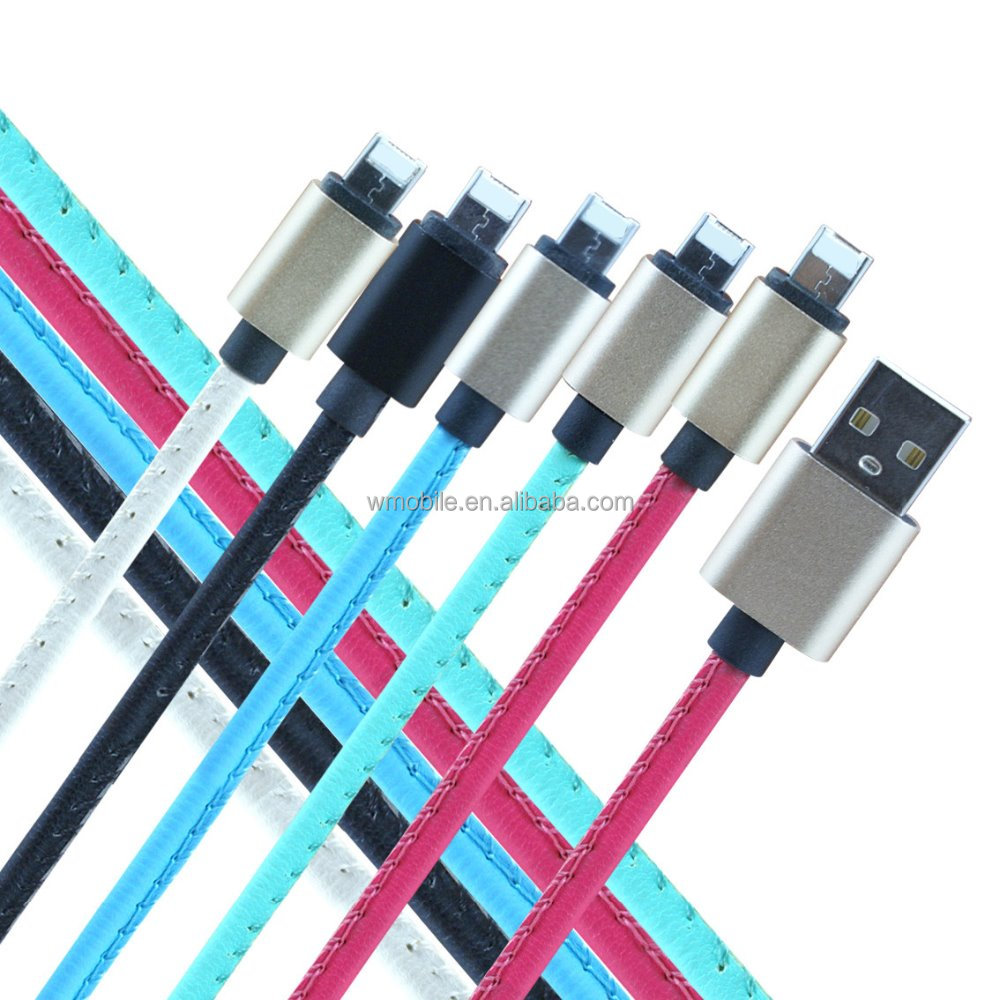 Leather Versions of LM cable | The world's first Android & connector for iPhone