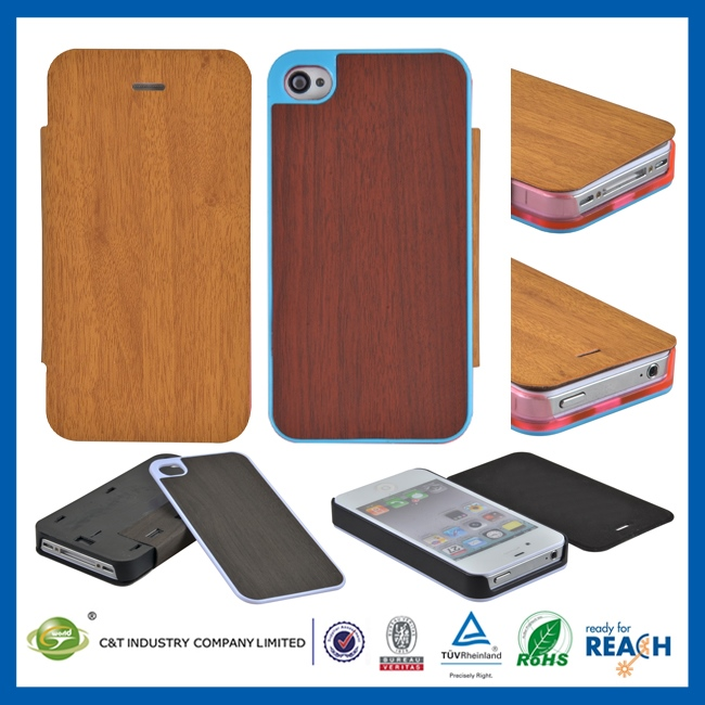 Manufacturer Wholesale Ultra Thin Slim bling flip leather case for iphone 5