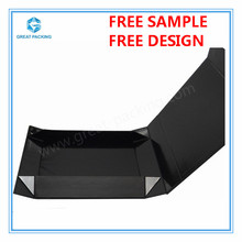 Folding gift boxes with concealed magnetic snap shut closure Luxury wholesale gift and hamper boxes