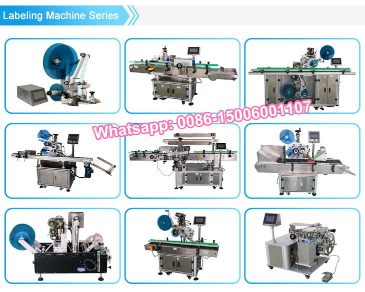 Automatic Sticker Zippered Bag top sticker Labeling Machine