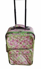 2016 Newly Printing Fabric EVA Trolley luggage