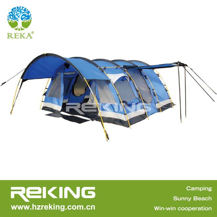 luxury 6 person summer camping tent