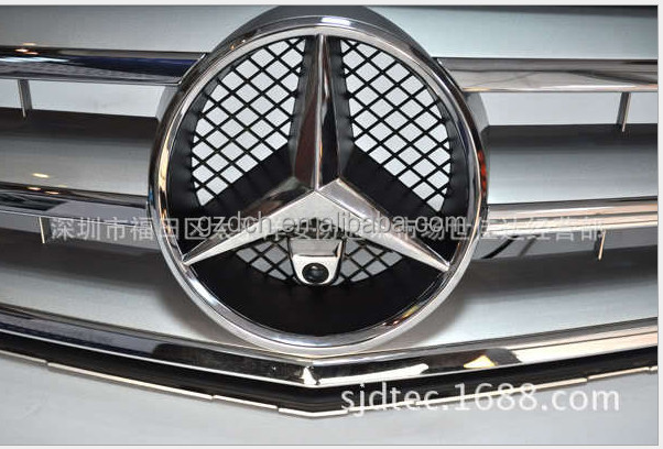 car FRONT camera for mercedes logo installation BLACK WS-BZ01