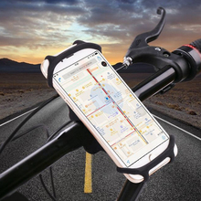 2017 new phone holder silicone phone rack cell phone holder for bike