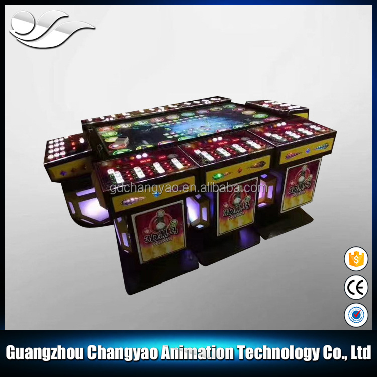 2017 Hot Selling IGS Fish Game Table Gambling Monster Game Machine