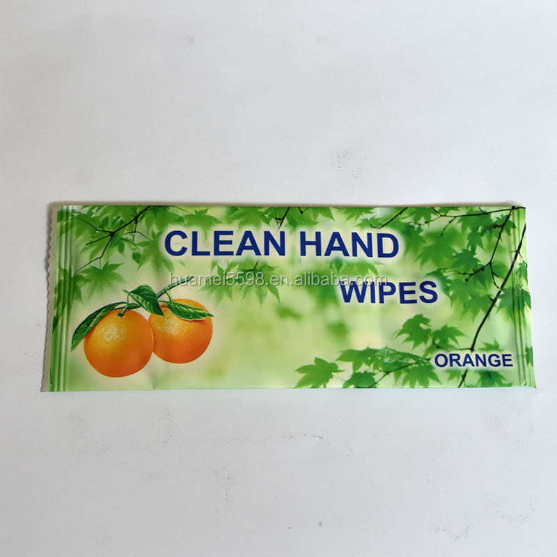 1pc Individual Packing After Dinner Hand Wipe Disposable Wet Wipes