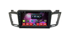 Factory directly !android 4.4 car dvd player for Toyota New RAV4 +OEM+DVR+Dual core !