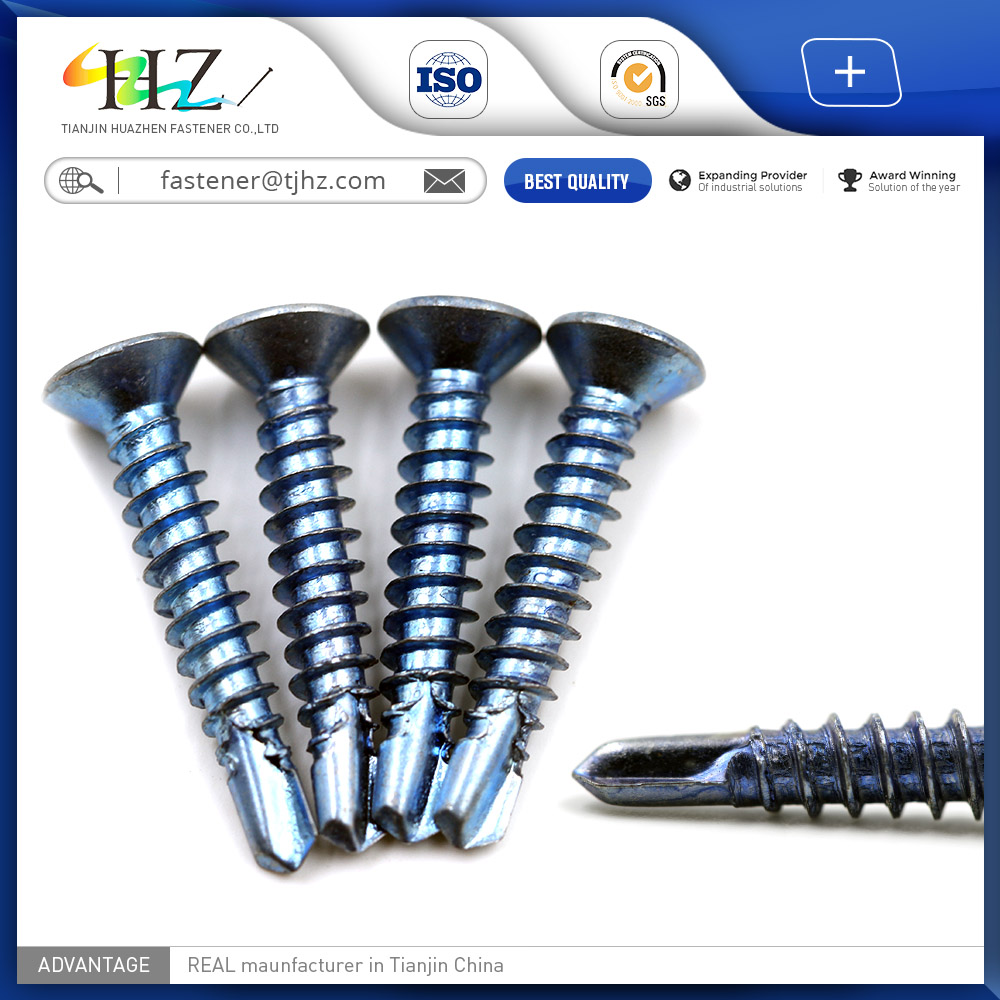 DIN7504 countersunk Head alibaba website China supplier self drilling <strong>screw</strong>