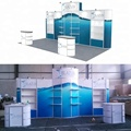 3x6 Simple Aluminium Rack Trade Show Display