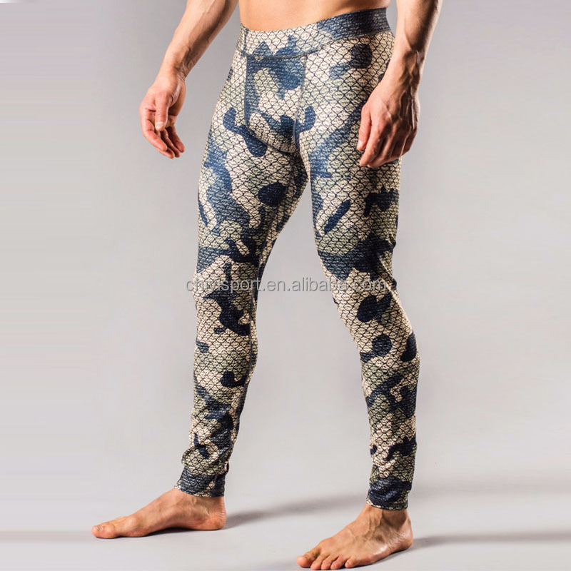 Wholesale custom logo fitnss wear compression pants men workout leggings