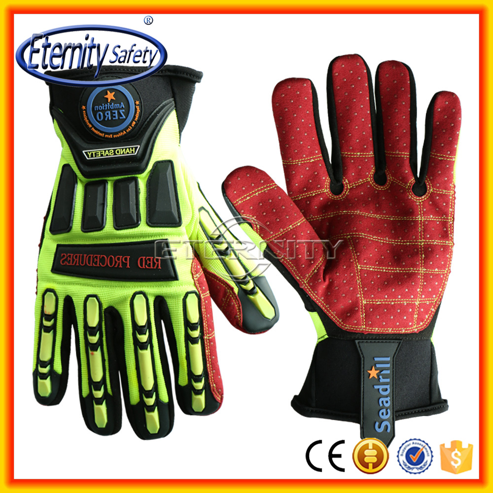 Nice design protective tool Handle mechanic glove