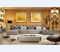 Direct Factory Specialized In Fabric Corner Sofa Set Latest Design