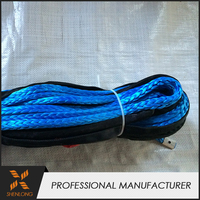 Factory price kevlar used winch rope for sale hand anchor winch rope