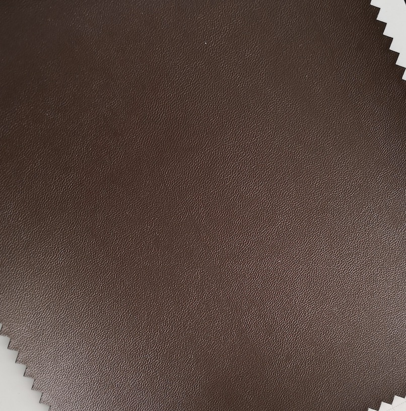 napa grain embossed Pu Synthetic Leather material for