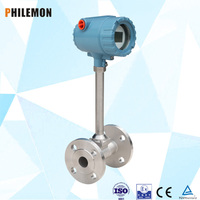 Flange type Vortex high Pressure flow meter