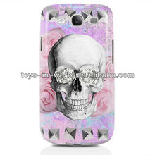 Skull case for samsung galaxy s3