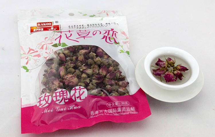 Herbal organic dried rose bud