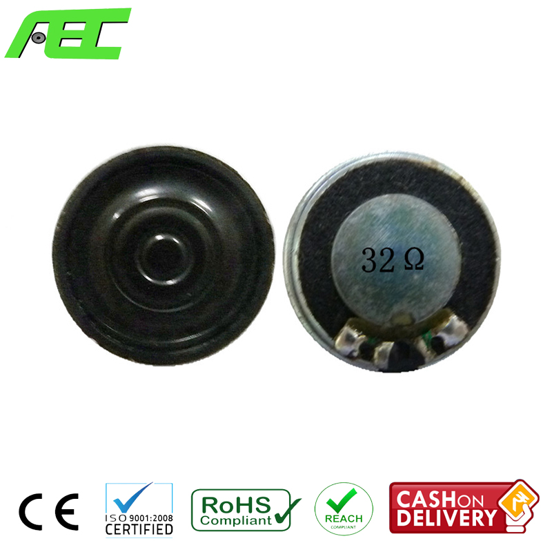 Professional loudspeaker for multimedia equipment 20mm 32 ohm 0.5w miniature speaker
