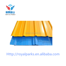 2018 high quality AISI galvanized color steel roofing tile/coated galvanized corrugated Zinc Aluminum metal roofing sheet