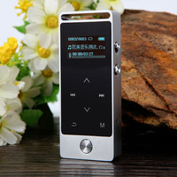 Touch Screen Metal Case Lossless 8GB Mp3 Player