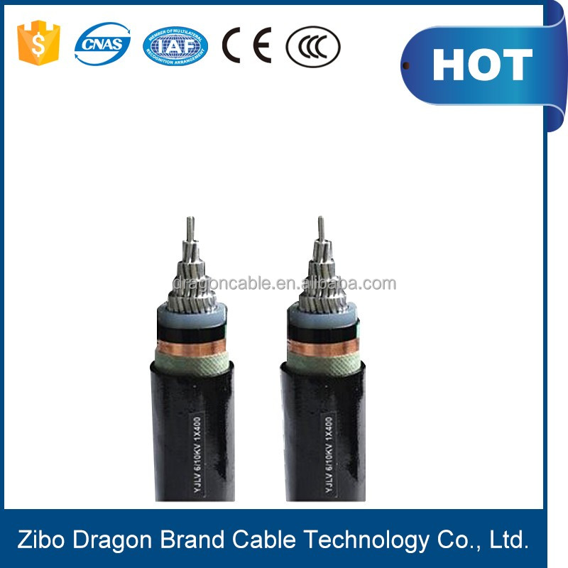 High tension power station cable, line underground 120mm 66kv 110kv 132kv 220kv xlpe power cable
