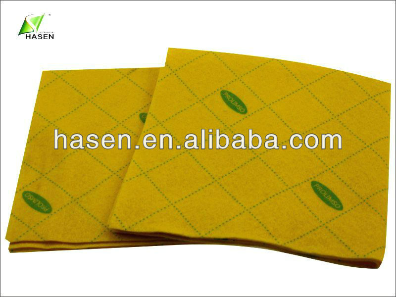 70% viscose super absorbent needle punch nonwoven fabric for antibacterial dish cloth