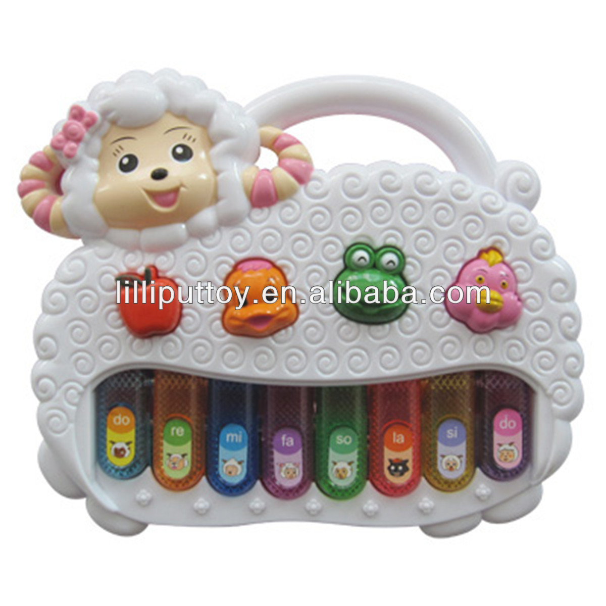 Children Musical Electronic Organ Toy Sheep Style