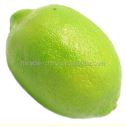 50mm mini Polystyrene plastic foam artificial fruit lemon for home decoration