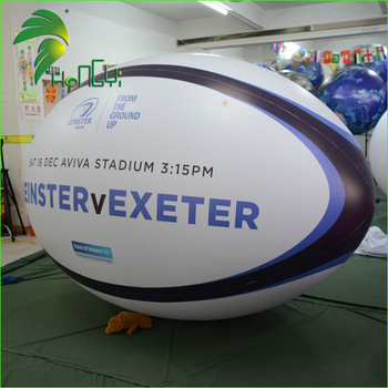 Rugby Ball Inflatables , Inflatable football for Advertising