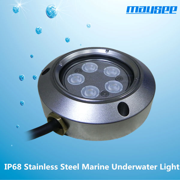 IP68 RGB underwater led lighting for boats