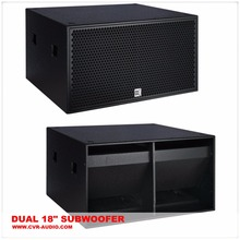sound systems\CVR 18 inch subwoofer speaker box+sound design stereo systemx+empty sub bass box