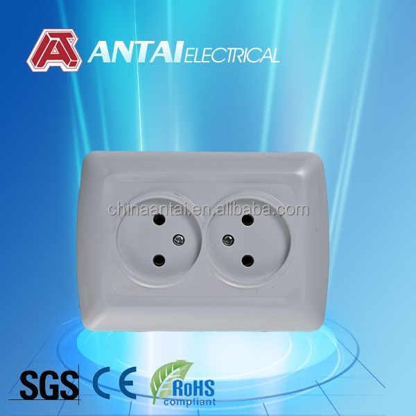 outlet receptacle for home,new open duplex socket outlet