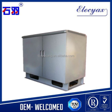 Shiyu electric instrument enclosure/equipment shelter cabinet/SK-135130 outdoor storage device metal case