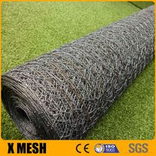 Dipped plastic hexagonal aviary galvanized wire mesh with CE Certificate